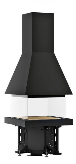 Квадратный камин Piazzetta M360 Q